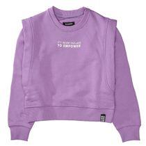 Sweatshirt EMPOWER - Vintage Lilac