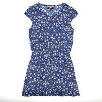 ATTENTION Jumpsuit mit Allover-Print - Jeans Blue Flower