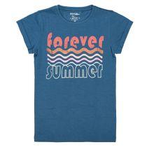 T-Shirt mit Print - Deep Ocean