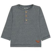 Langarmshirt im Streifen-Design - Tinte