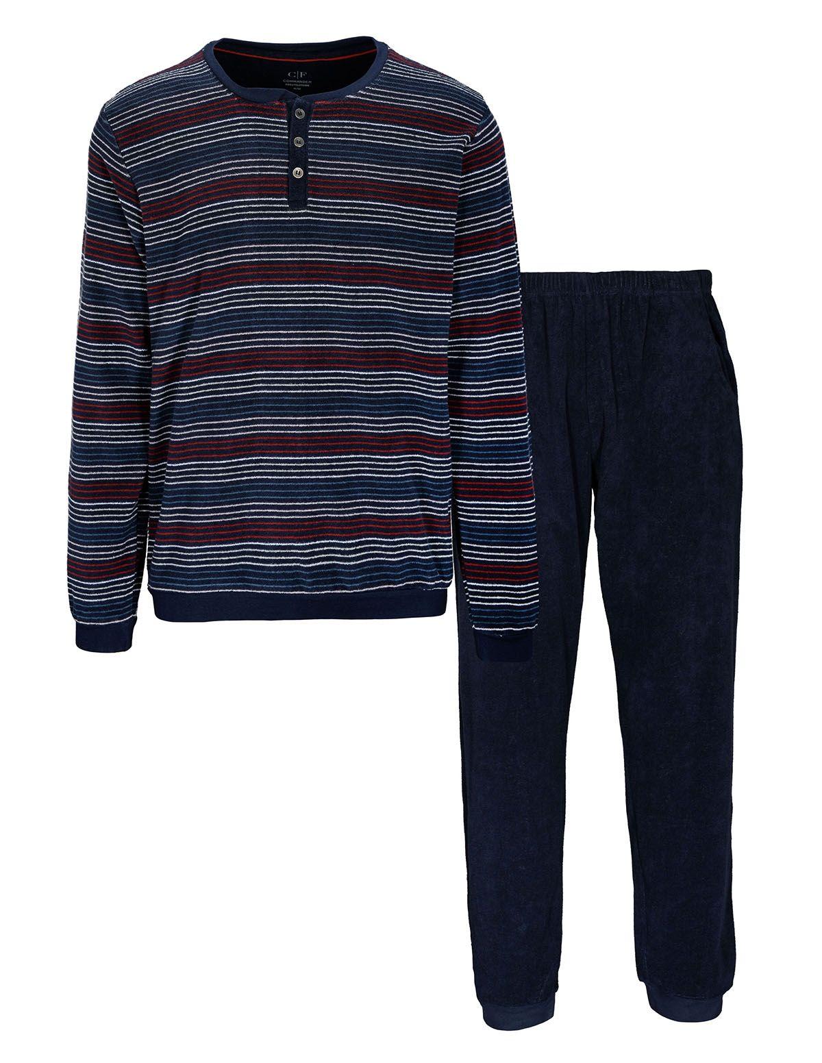 COMMANDER Frotte Schlafanzug - Dark Blue
