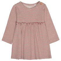 Kleid mit Streifen - Berry