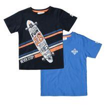 2er Pack T-Shirts mit Print - Bunt Sortiert