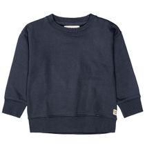 Sweatshirt mit Rundhalsausschnitt - Tinte