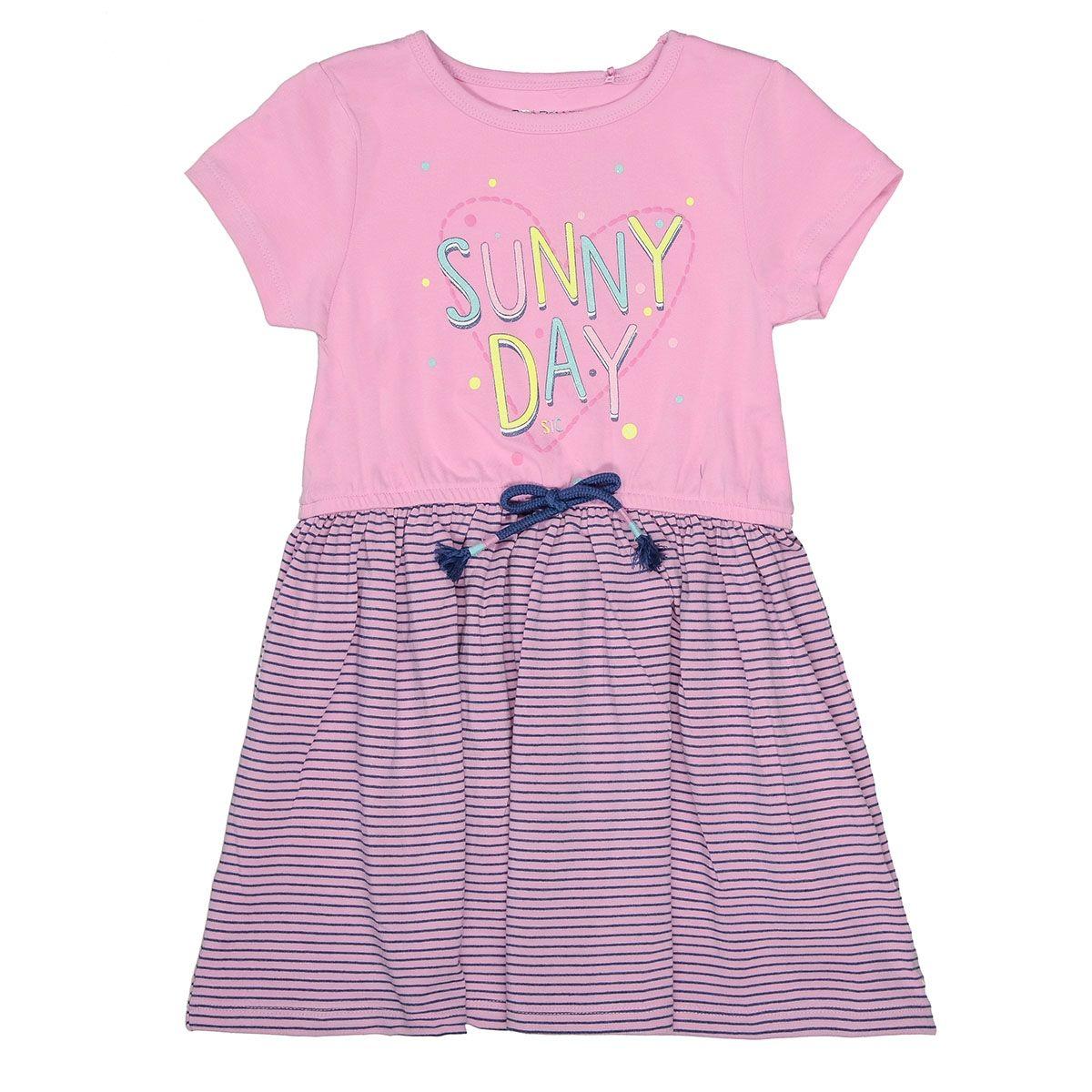 Kleid mit Streifen-Design - Lavendel