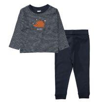 ORGANIC COTTON Pyjama IGEL - Dark Blue