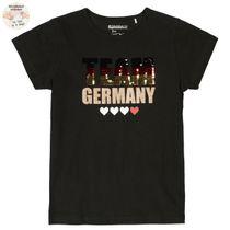 SOCCER T-Shirt mit Glitzer-Print - Black
