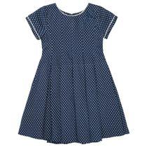 Kleid mit Allover-Print - Dark Blue