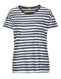 FRY DAY T-Shirt mit Brusttasche - Dark Navy