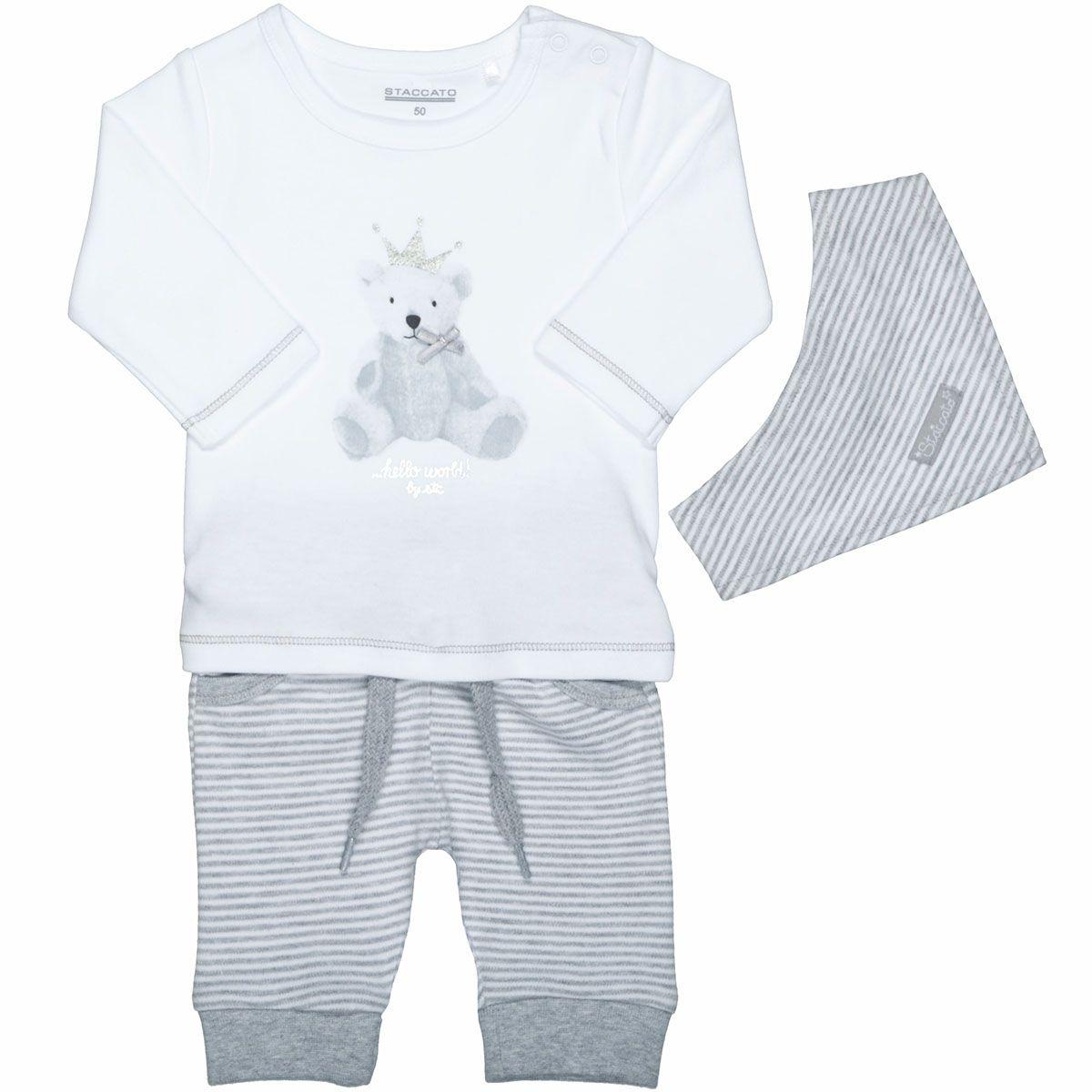 Geschenkset 3-teilig - White Grey