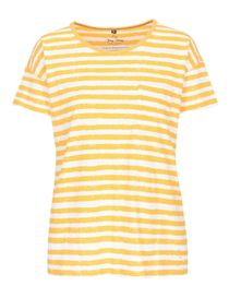 FRY DAY T-Shirt mit Brusttasche - Mango