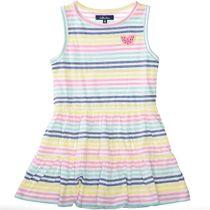 ATTENTION Kleid mit Streifen-Design - Multi