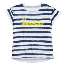 T-Shirt im Streifen-Design - Midnight