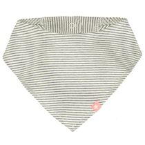 ORGANIC COTTON Tuch - Offwhite Streifen