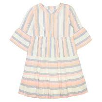 Kleid mit Streifen-Design - Multicolour