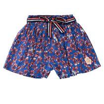 JETTE Shorts mit Blumen - Powder Blue