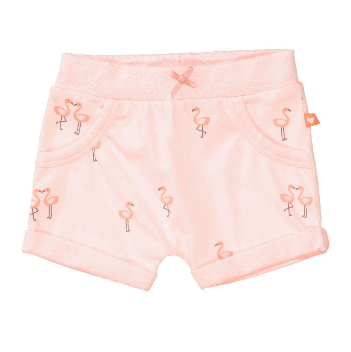 ORGANIC COTTON Shorts FLAMINGO - Soft Peach