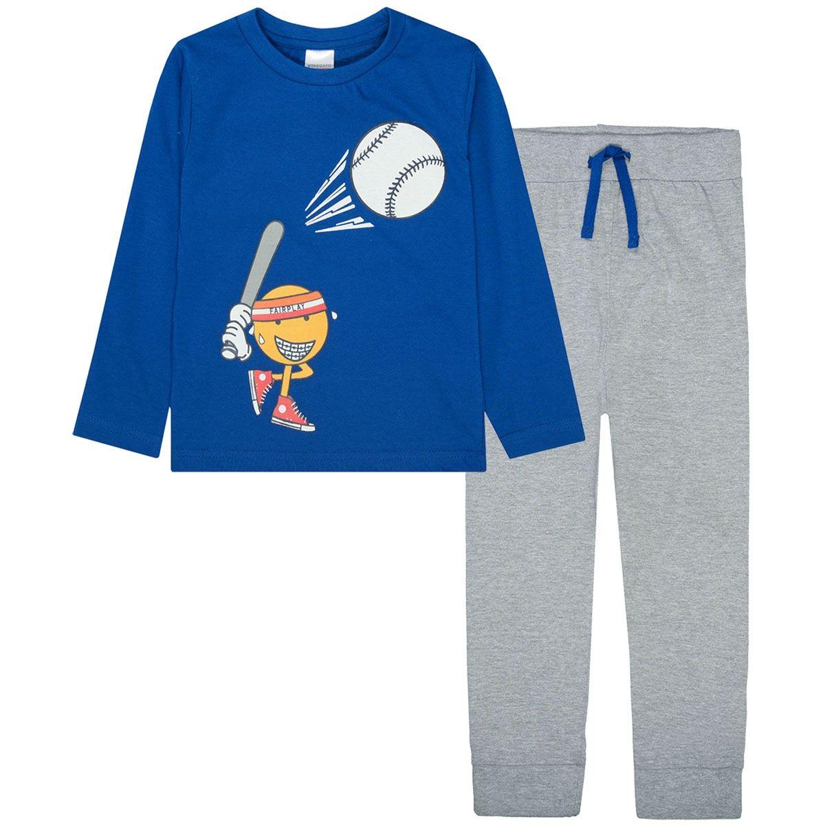 Pyjama Rugby - Light Grey Melange