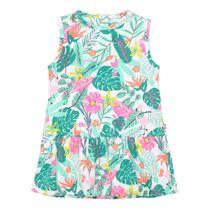 Kleid Alloverprint - Jungle