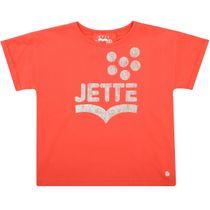 JETTE T-Shirt mit Print - Bright Orange