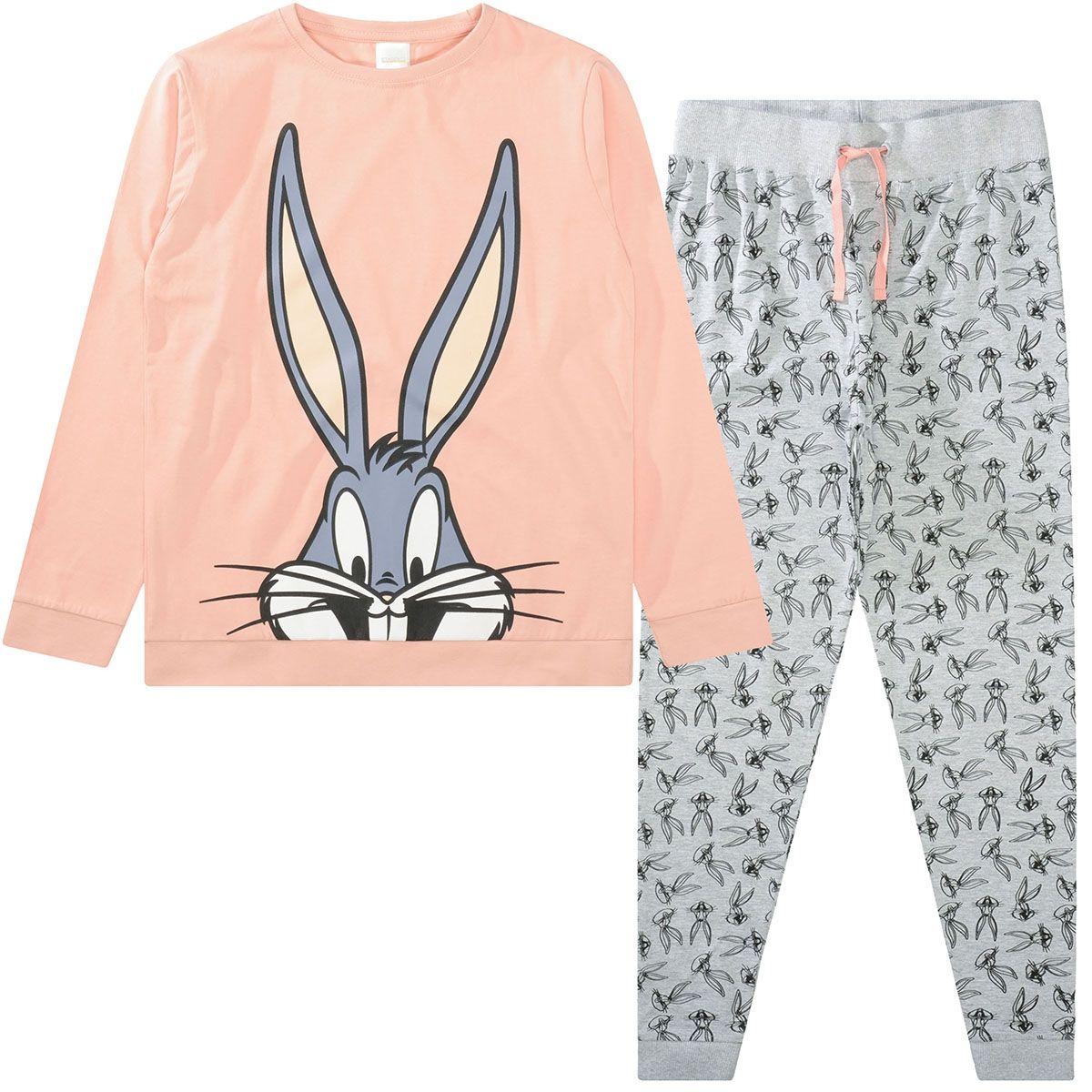 Pyjama Bugs Bunny - Old Rose