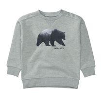 BASEFIELD Sweatshirt mit Print - Mid Grey Melange
