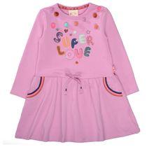 JETTE Kleid mit Pailletten - Purple