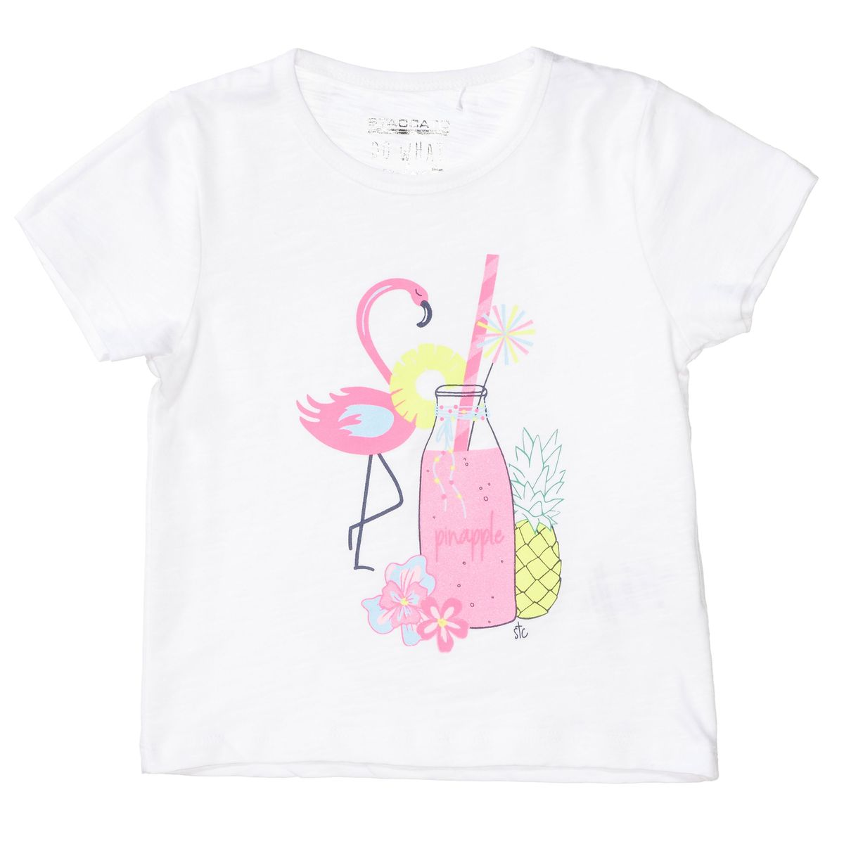 T-Shirt PINEAPPLE - Soft White
