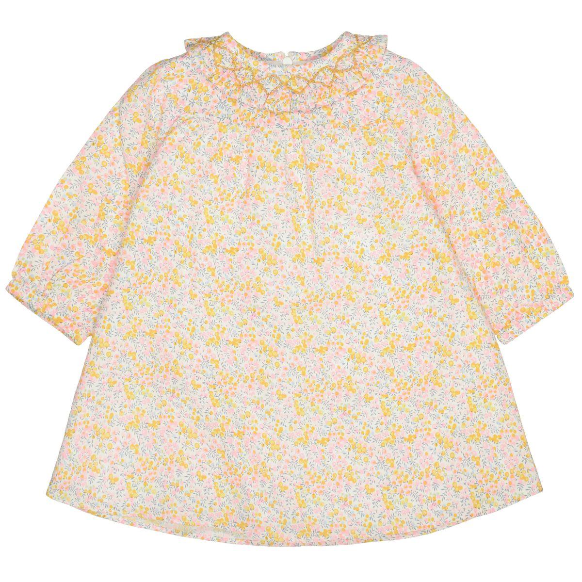 Kleid mit Allover-Print - Flower