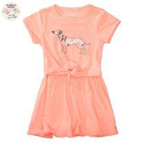 WENDEPAILLETTEN Kleid mit Print - Light Orange