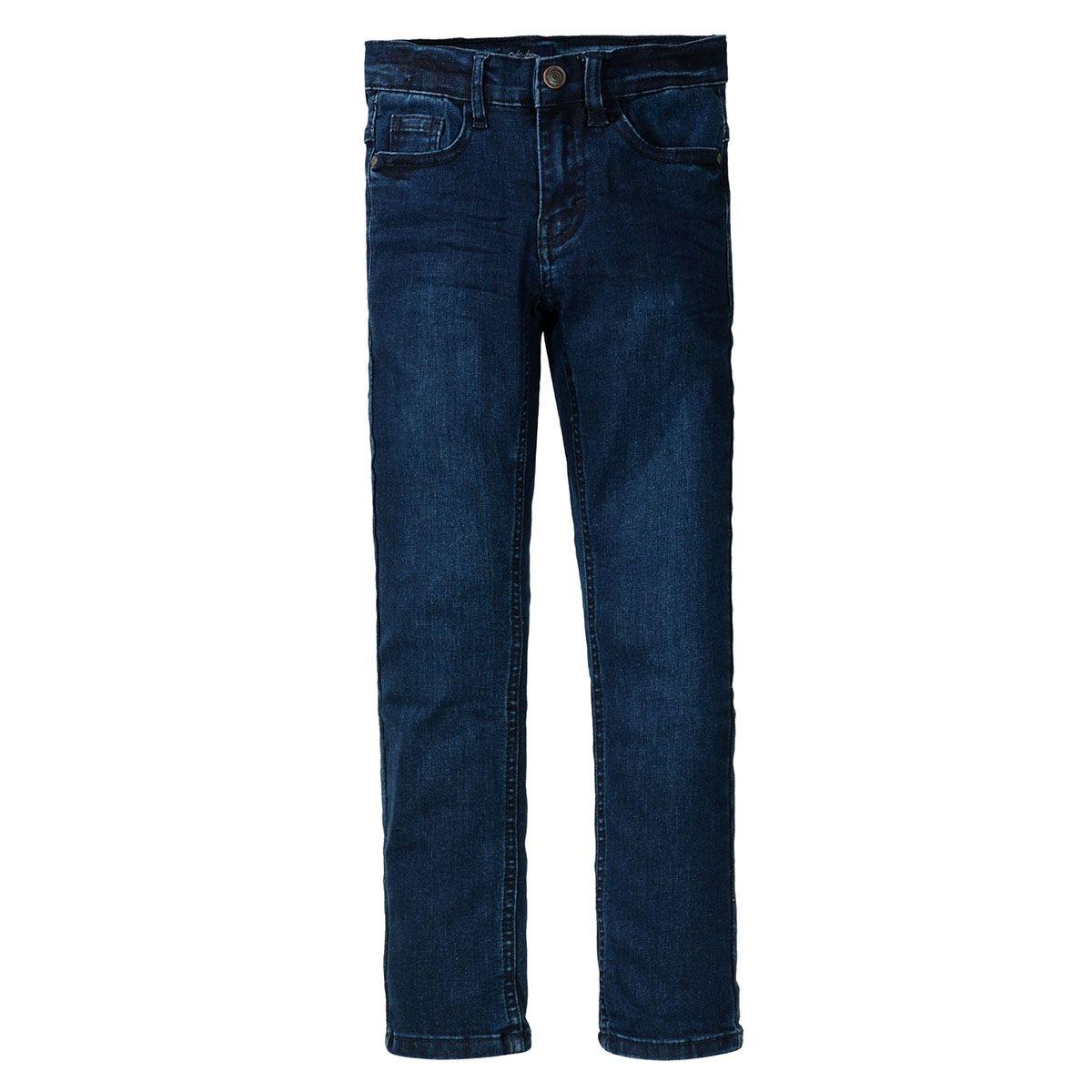 ATTENTION Jungen Jeans mit verwaschener Optik - Dark Blue Denim