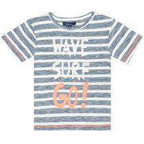 ATTENTION T-Shirt Wave - Dark Tinte Streifen
