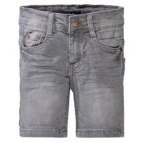 ATTENTION Jeans Bermudas mit verwaschener Optik - Grey Denim