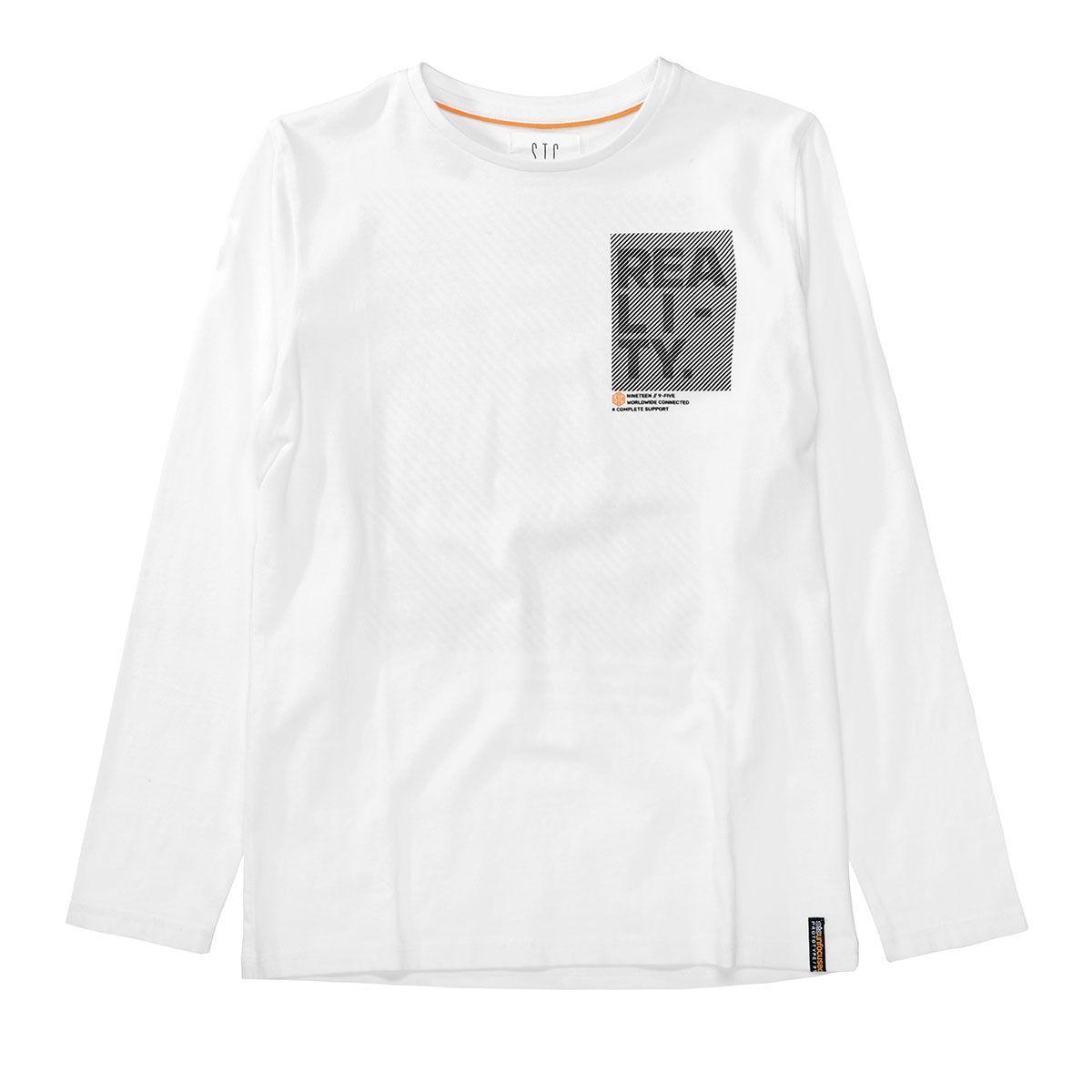 Langarmshirt REALITY - Offwhite