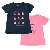 T-Shirt, 2er SET - Bunt Sortiert