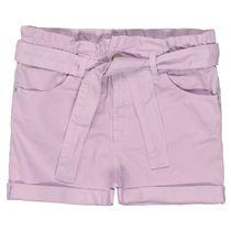 Shorts mit Bindegürtel - Vintage Lilac