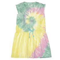 Kleid mit Batik-Design - Lavendel
