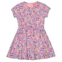 Kleid mit Allover-Blumen-Print - Lavendel AOP