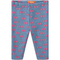 Baby Thermo Leggings Schleife - Jeans Blue