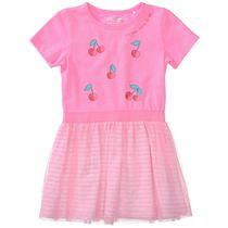 Kleid mit Print - Light Pink