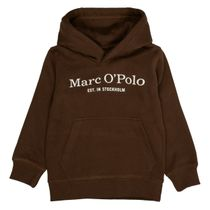 MARC O'POLO Hoodie mit Label-Print auf der Brust - Brown