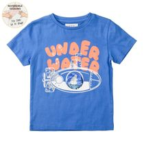 WENDEPAILLETTEN T-Shirt UNDER WATER - Royal Blue