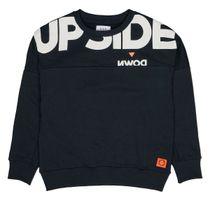 Sweatshirt mit überschnittenen Schultern - Dark Navy