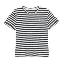 MARC O'POLO Shirt im Streifen-Design - Washed Blue