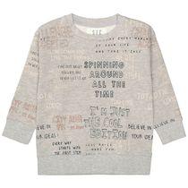 Sweatshirt mit Rundhalsausschnitt - Stone Melange