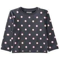 Sweatshirt mit Allover-Print - Anthra