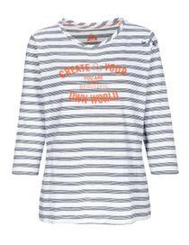 FRY DAY Shirt im Streifen-Design - Dark Navy