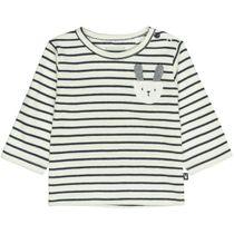 ORGANIC COTTON Streifenshirt Hase - Offwhite