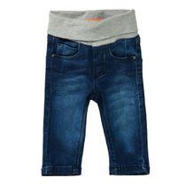 Jeans mit elastischem Bund - Mid Blue Denim