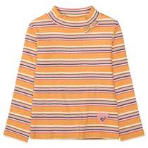 Langarmshirt mit Stehkragen - Senf